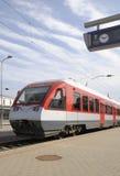 самомоднейший поезд Стоковая Фотография