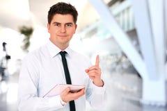 самомоднейший работник офиса стоковая фотография