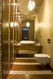 самомоднейший туалет стоковое фото rf