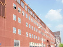 самомоднейший университет стоковое изображение