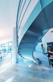 самомоднейшая лестница Концепция дела офиса Стоковые Фотографии RF