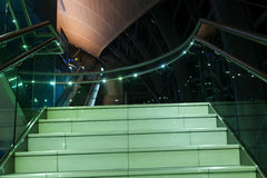 самомоднейшая лестница Стоковая Фотография
