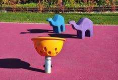 Самомоднейшая спортивная площадка малышей Стоковая Фотография