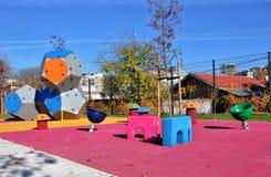 Самомоднейшая спортивная площадка малышей Стоковое Изображение RF