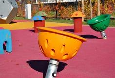 Самомоднейшая спортивная площадка малышей Стоковые Фото