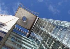 Самомоднейшее большое административное здание Стоковое Изображение