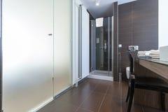 самомоднейшее ванной комнаты нутряное Стоковые Изображения RF