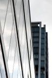 Самомоднейшее зодчество в Франкфурт - am - основа Стоковое Изображение RF