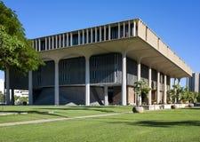 Здание капитолия положения, Гонолулу, Оаху, Гавайи Стоковое Изображение RF