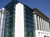 Самомоднейшее здание Стоковое Изображение