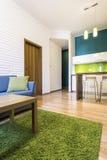 самомоднейшее квартиры нутряное Стоковое Изображение