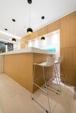 самомоднейшее квартиры нутряное Стоковое Фото