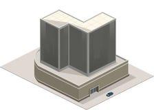 Самомоднейшее коммерчески здание Стоковые Изображения RF