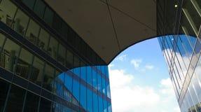 Самомоднейшее коммерчески здание Стоковые Фото
