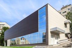 Самомоднейшее коммерчески здание стоковое изображение
