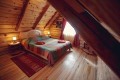 самомоднейшее дома нутряное часть живущей комнаты дома Абстрактный интерьер спальни нерезкости для предпосылки Интерьер уютной сп Стоковые Фотографии RF