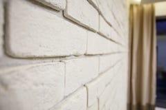 самомоднейшее дома нутряное часть живущей комнаты дома Абстрактный интерьер спальни нерезкости для предпосылки Интерьер уютной сп Стоковые Фото
