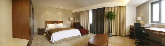 самомоднейшее спальни нутряное Стоковые Фото