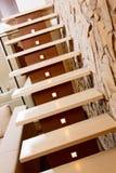 Самомоднейшие лестница типа и стена ashlar стоковые фотографии rf