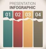 Самомоднейшие мягкие шаблон/infographics конструкции цвета Стоковая Фотография RF
