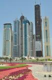 Взгляд улицы на Дубае стоковое фото