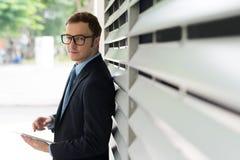 Самомоднейший бизнесмен Стоковые Фотографии RF