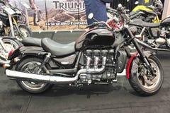 Мотоцикл триумфа стоковые фотографии rf