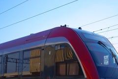 самомоднейший поезд стоковые фотографии rf