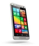 самомоднейший сенсорный экран smartphone Стоковое Фото