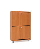 самомоднейший шкаф деревянный Стоковая Фотография