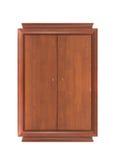 самомоднейший шкаф деревянный Стоковые Изображения RF