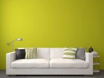 Самомоднейший living-room Стоковые Фотографии RF