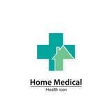 Самонаведите медицинский символ Дом престарелых Стоковая Фотография RF