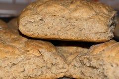 Самонаведите сделанный хлеб, healty еда, хорошая диета - отмелый DOF Стоковое фото RF