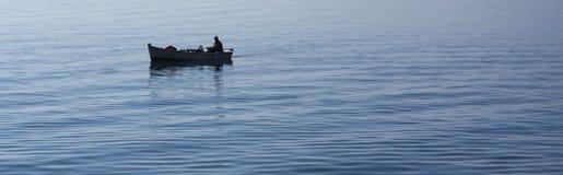Самостоятельно на море Стоковые Фото