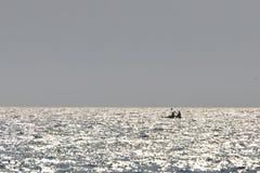 Самостоятельно на океане Стоковая Фотография RF