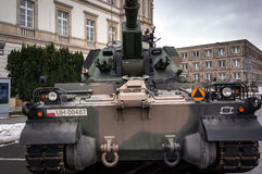Самоходная артиллерия - гаубица 155 mm Стоковая Фотография RF