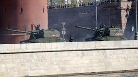 Самоходная артиллерия русской армии видеоматериал