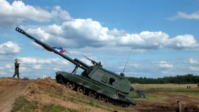 Самоходная артиллерия Msta s сток-видео