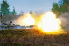 самоходные оружи 152-mm Стоковая Фотография RF