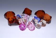 самоцветы диамантов Стоковое Изображение RF
