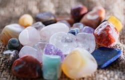 Самоцветы камней стоковые изображения rf