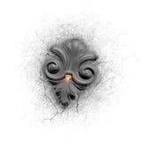 самоцвет lis de fleur светя Стоковое Изображение