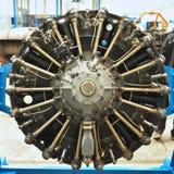 Самолетный двигатель пропеллера Стоковое Изображение RF