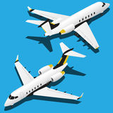 Самолеты вектора равновеликие установленные иллюстрации 2 бесплатная иллюстрация