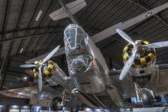 Самолеты на музее USAF, Dayton, Огайо Стоковое фото RF
