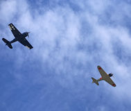 Самолеты WWII Стоковые Изображения