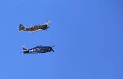 Самолеты WWII Стоковая Фотография RF