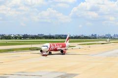 Самолет авиапорта земной Стоковое Изображение RF