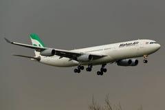 Самолет аэробуса A340 Стоковые Фото